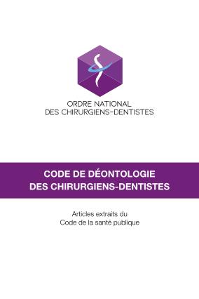 Code de déontologie des chirurgiens-dentistes